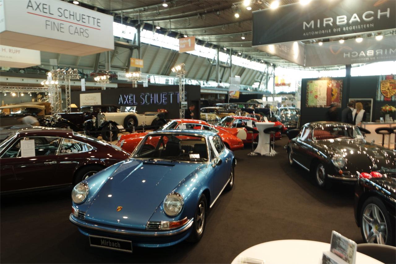 Mirbach Messestand - Porsche 911 und 356