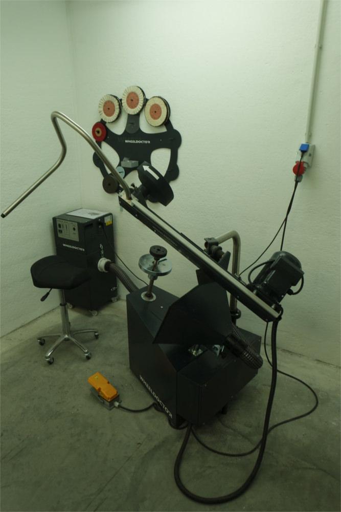 Wheeldoctor zur fachgerechten Felgenaufbereitung