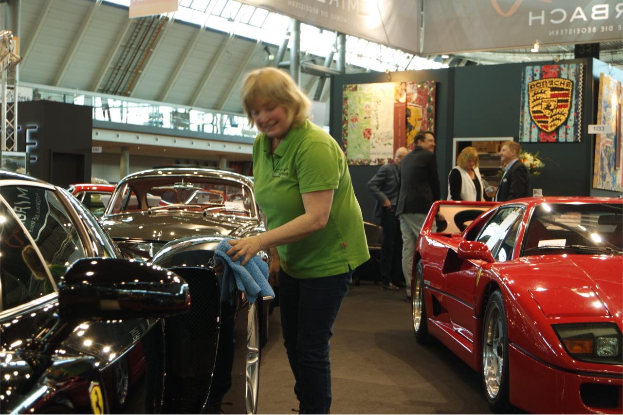 Mirbach Messestand  - Ferrari Enzo und F40