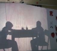 Krampus-Schattentheater