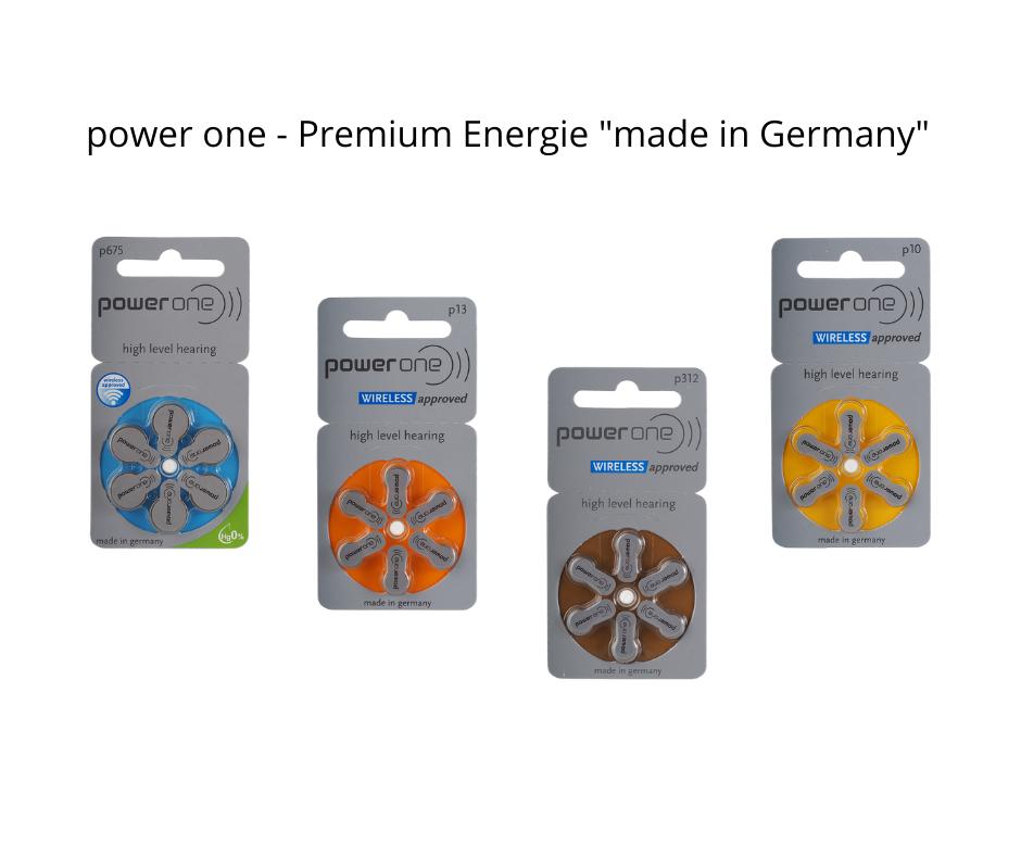 Preiswerte Qualitätsbatterien für Ihre Hörgeräte