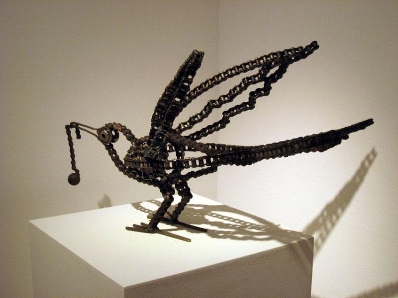 Serie Mariamulatas / Esculturas hechas con metal reciclado / Disponible