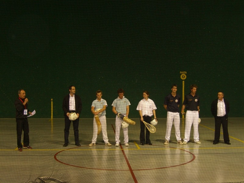 Finales Championnat de France Chistera Joko-Garbi Juniors.