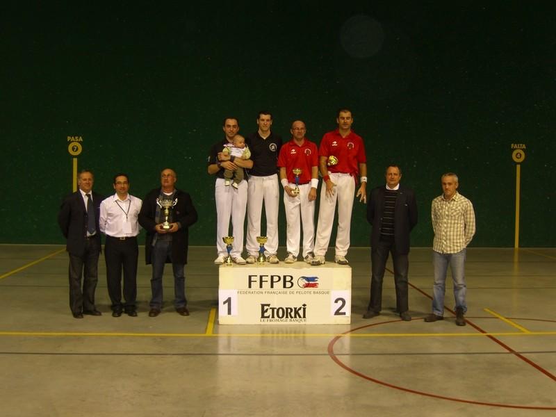 Saint-Martin-de-Seignanx remporte le titre.