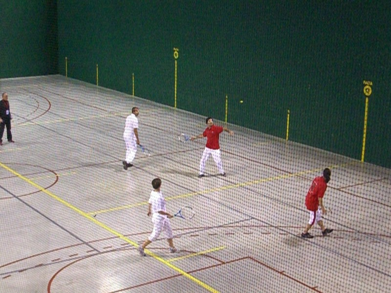Démonstration Frontenis.