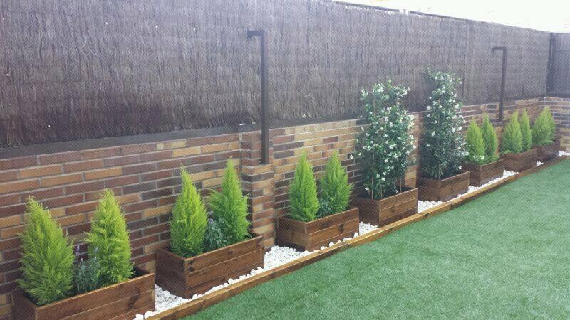 Jardinera exterior jardineras y maceteros de madera - Jardineras baratas online ...