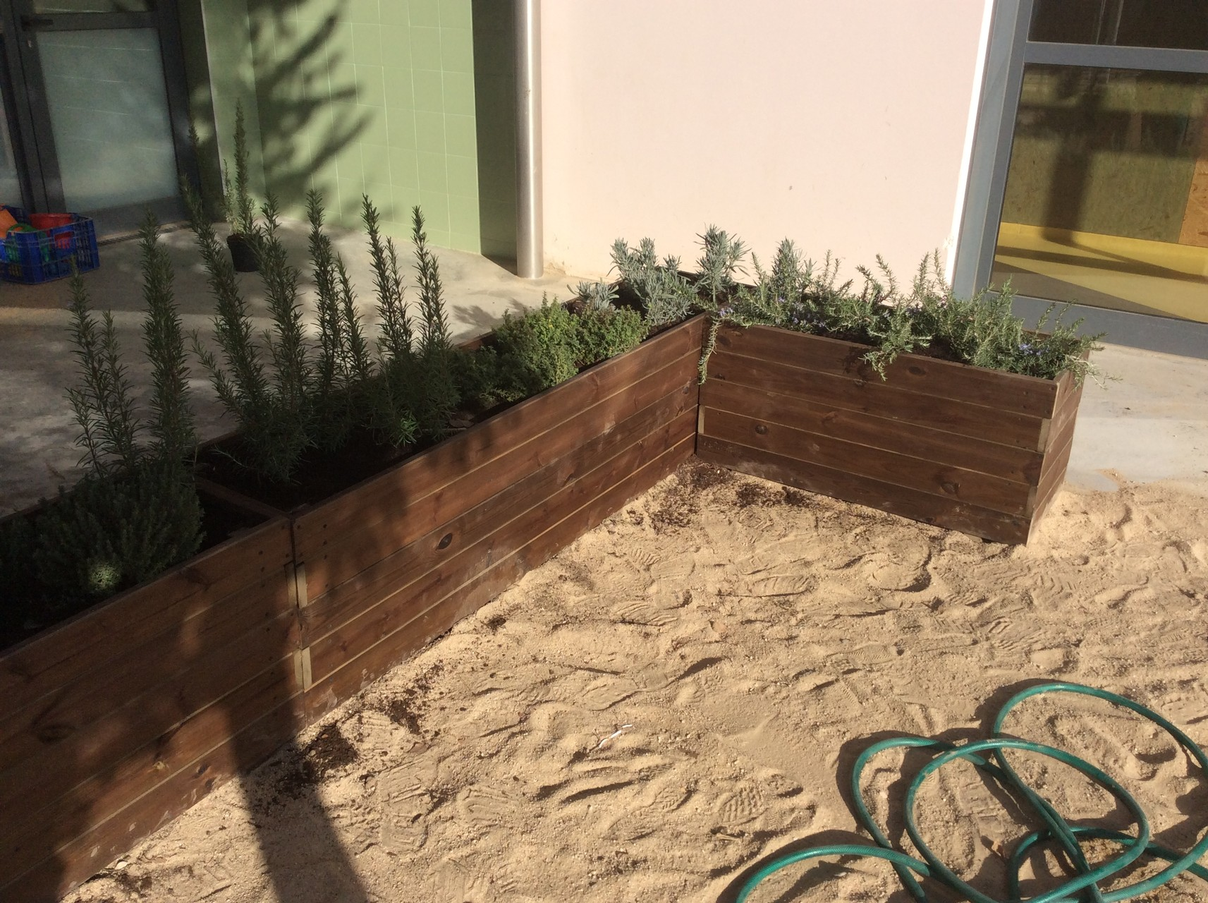 Jardineras al Autoclave 200x40x50 altura