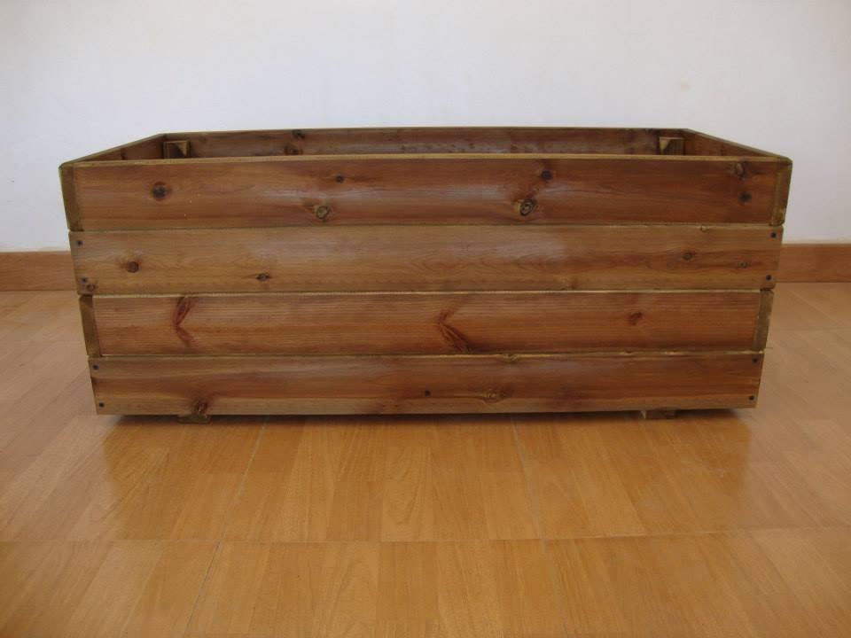 Jardineras para el exterior jardineras de madera - Jardineras baratas online ...