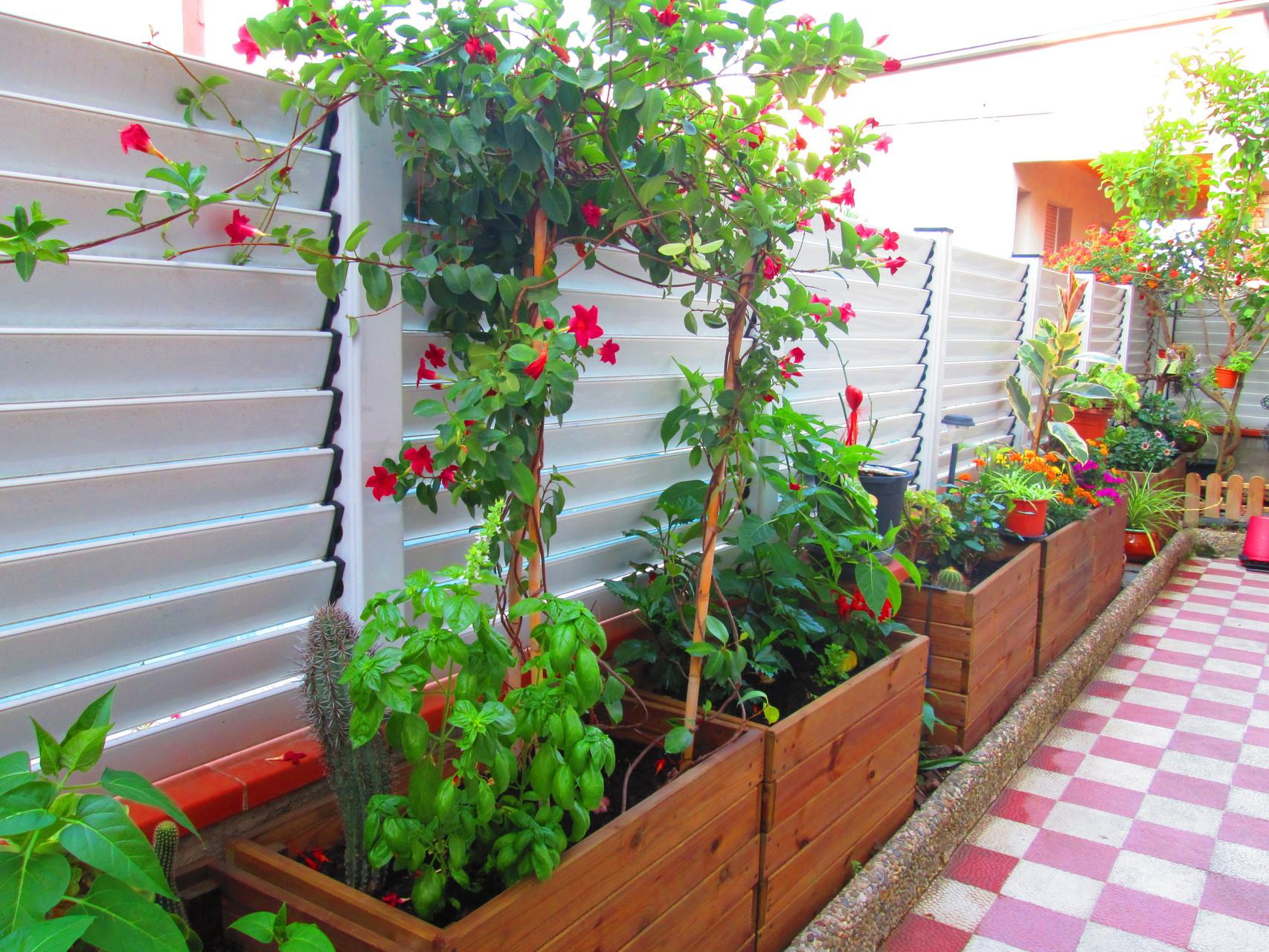 Jardineras al Autoclave de 100x40x50 altura