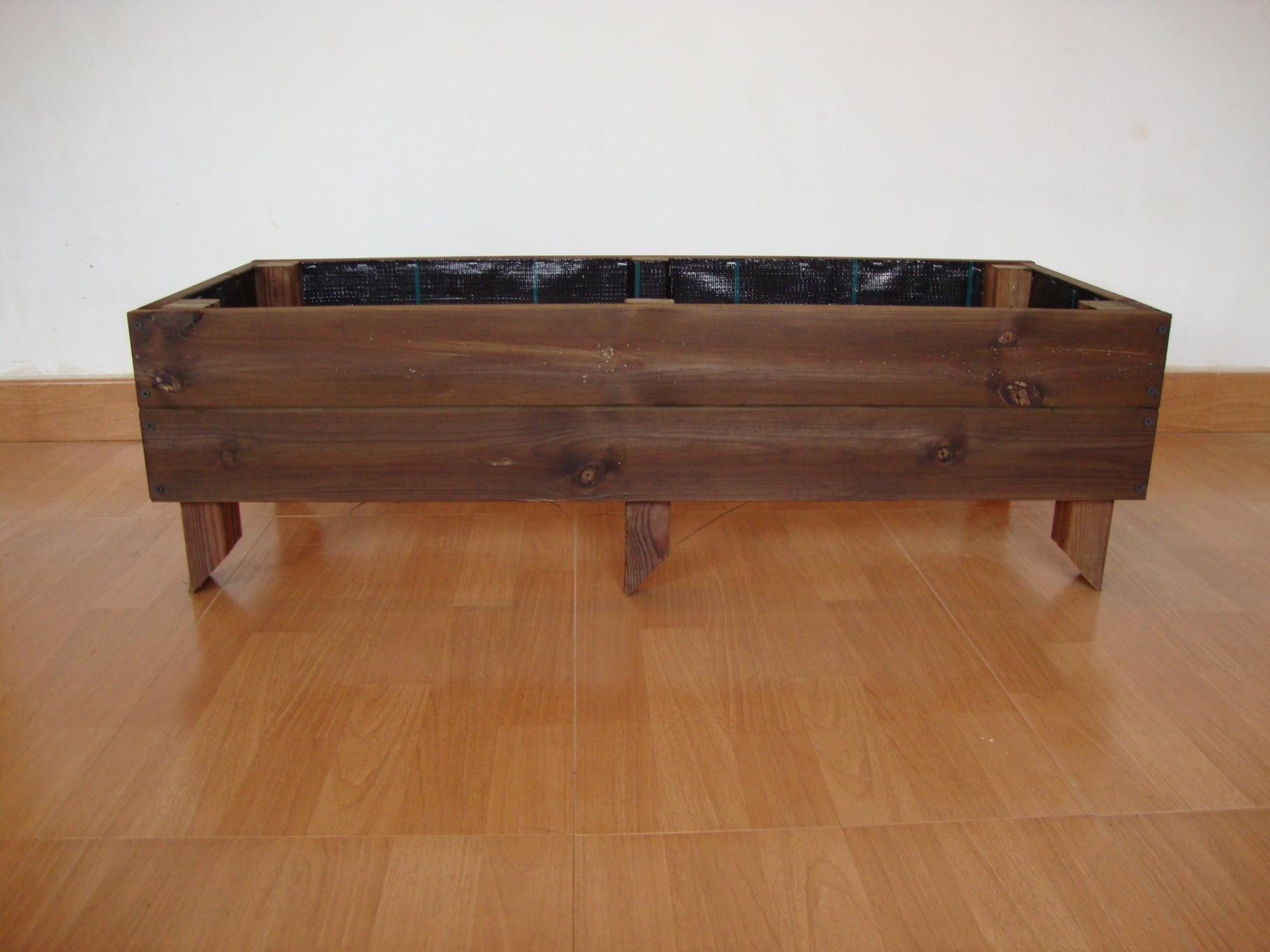 Huerto elevado al autoclave jardineras de madera - Autoclave para madera ...