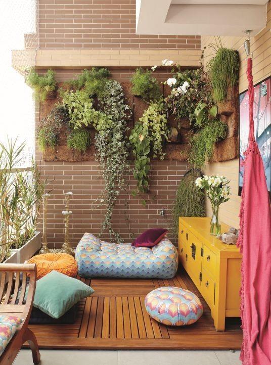"Balcon con "" Jardin Vertical """