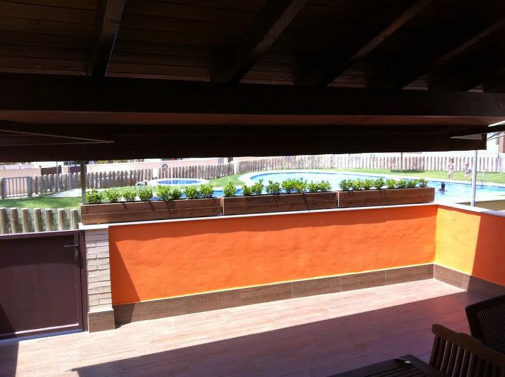 Jardineras al Autoclave 150x22x20 altura