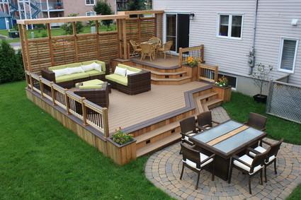 Jardin + deck