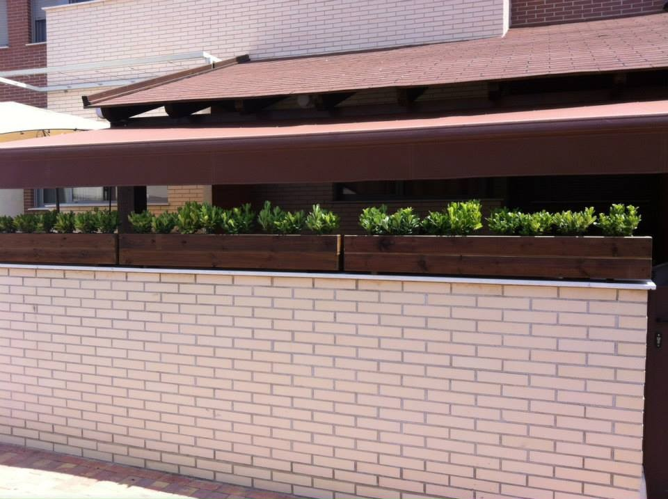 Jardineras al Autoclave 150x20x20 altura