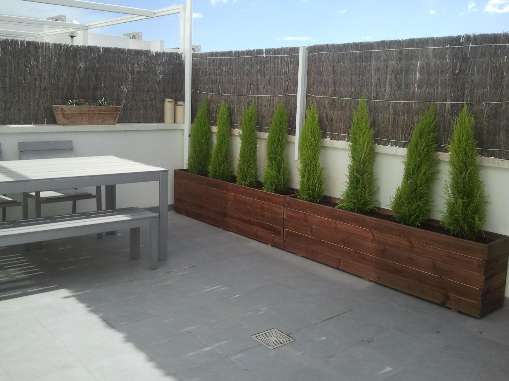 Jardineras al Autoclave 180x30x50 altura