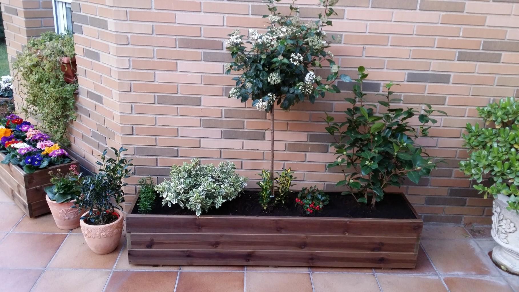 Jardineras al Autoclave 150x30x30 altura