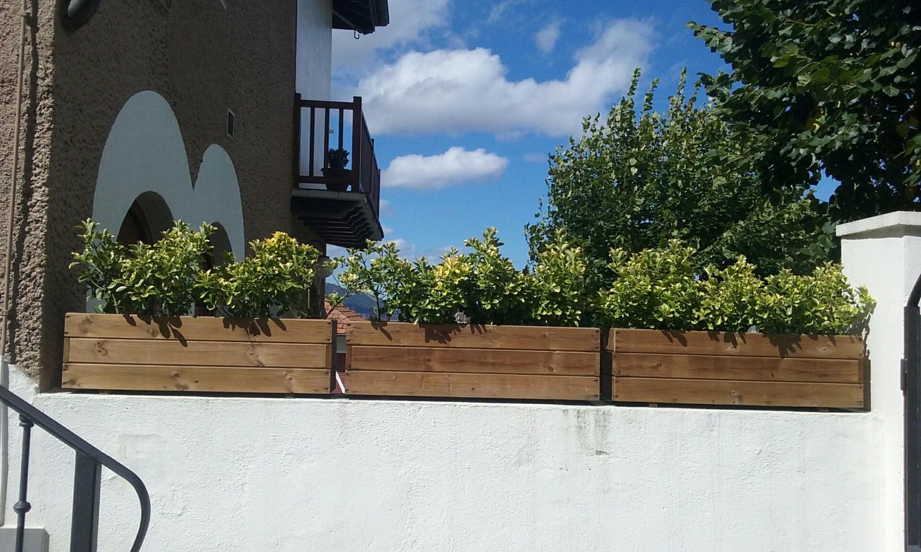 Jardineras al Autoclave 100x20x30 altura