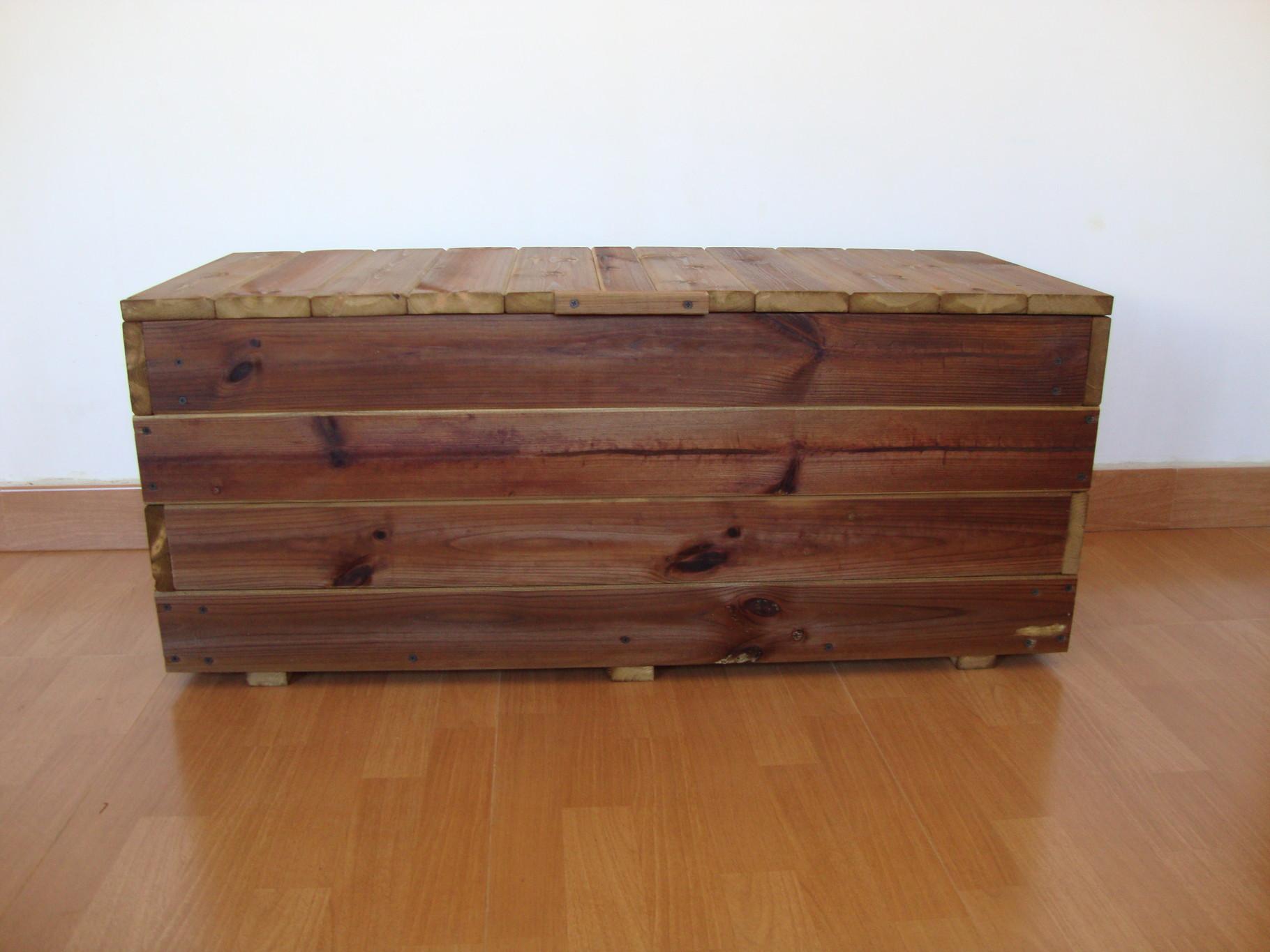 Baul al autoclave exterior jardineras de madera - Autoclave para madera ...