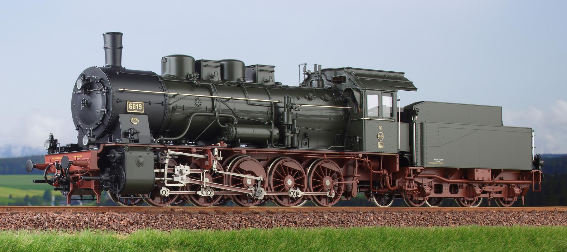 Spur 0 Baureihe 57.10 preussische G10 Lokomotive Nr. 6019 Halle Epoche I