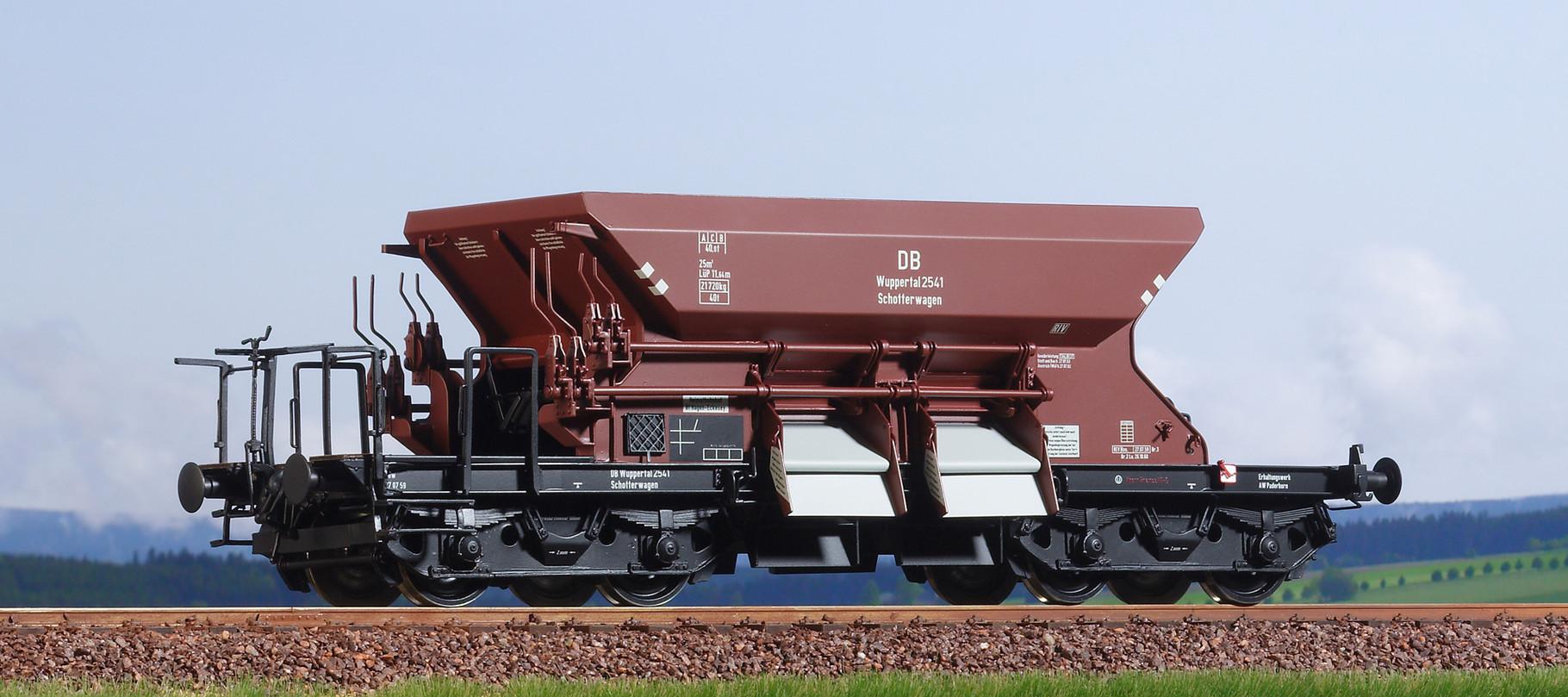 Spur 0, DB Dienstschotterwagen, Mainz 2434, Epoche III