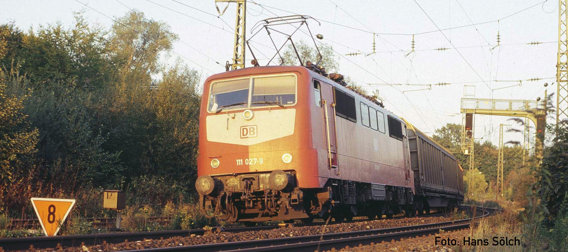 Lokomotive Baureihe 111 Vorbild