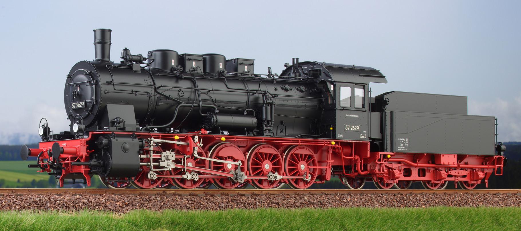 Spur 0 Baureihe 57.10 preussische G10 Lokomotive Nr. 57 2629 Epoche III