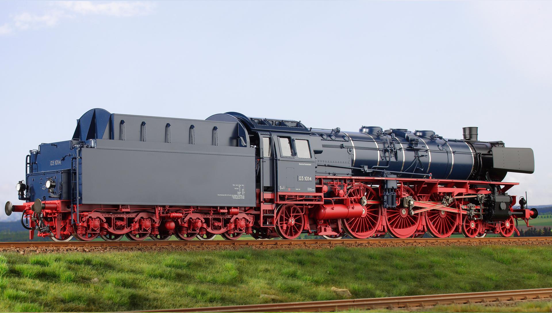 Spur 1 Lokomotive Baureihe 03.1014 DB Handmuster