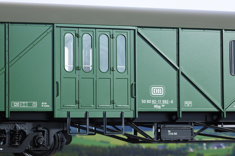Spur 1 MDyg 986 Werkstattwagen Türen, Epoche IV (Handmuster)