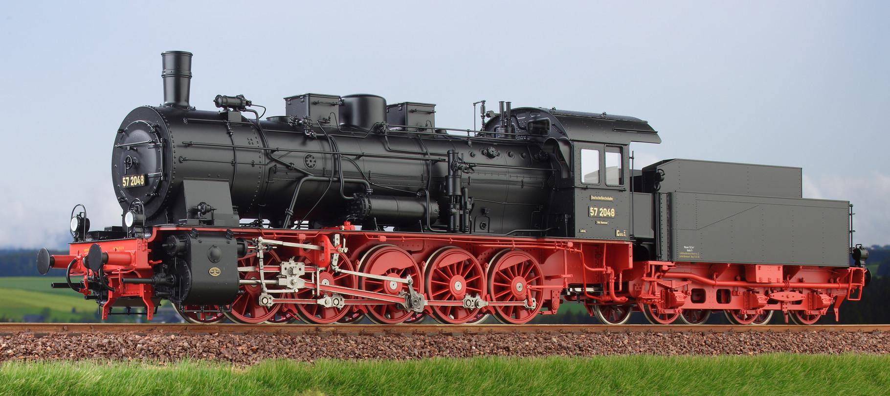 Spur 0 Baureihe 57.10 preussische G10 Lokomotive Nr. 57 2048 Epoche II