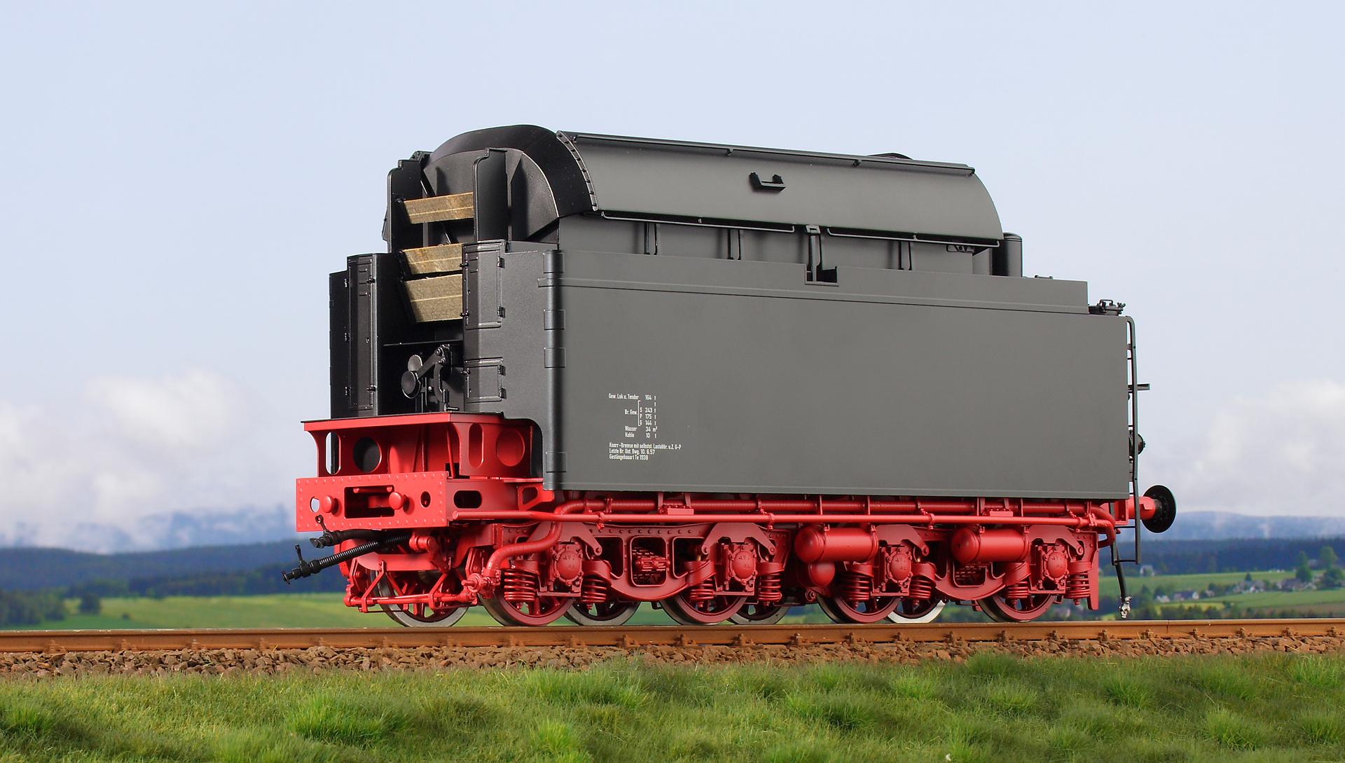Spur 1 Tender 1 zur Lokomotive Baureihe 03.1014 DB Handmuster
