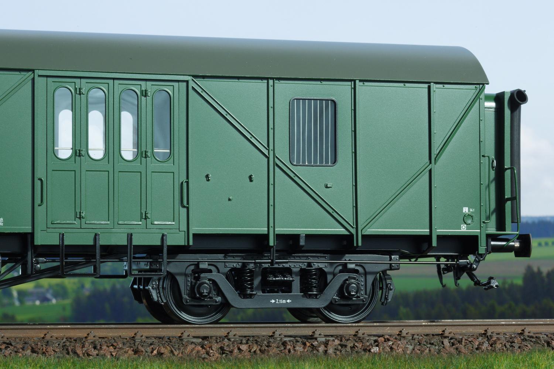 Spur 1 MDyg 986 Werkstattwagen Drehgestell, Epoche IV (Handmuster)