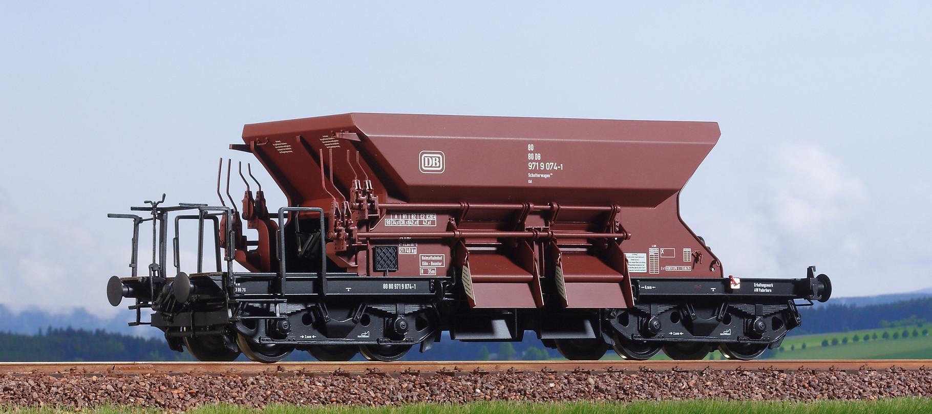 Spur 0, DB Dienstschotterwagen,  971 9 074-1, Epoche IV
