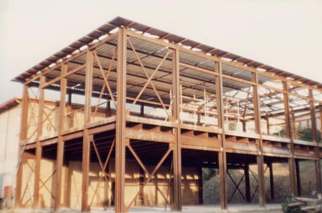 Edificio in acciaio - Istituto Alberghiero Assisi