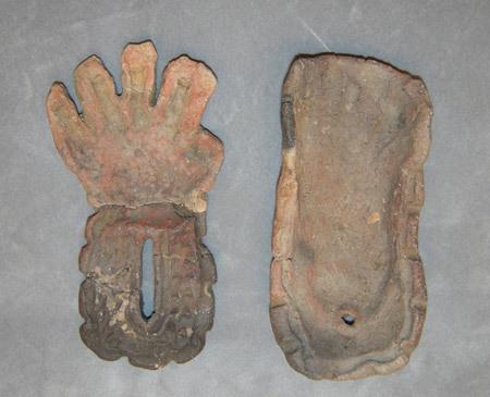 陶芸家 ブログ 茨城県笠間市 遺跡 発掘 粘土 子供手形 赤ちゃん手形 お祝い 記念 命のバトン 縄文時代