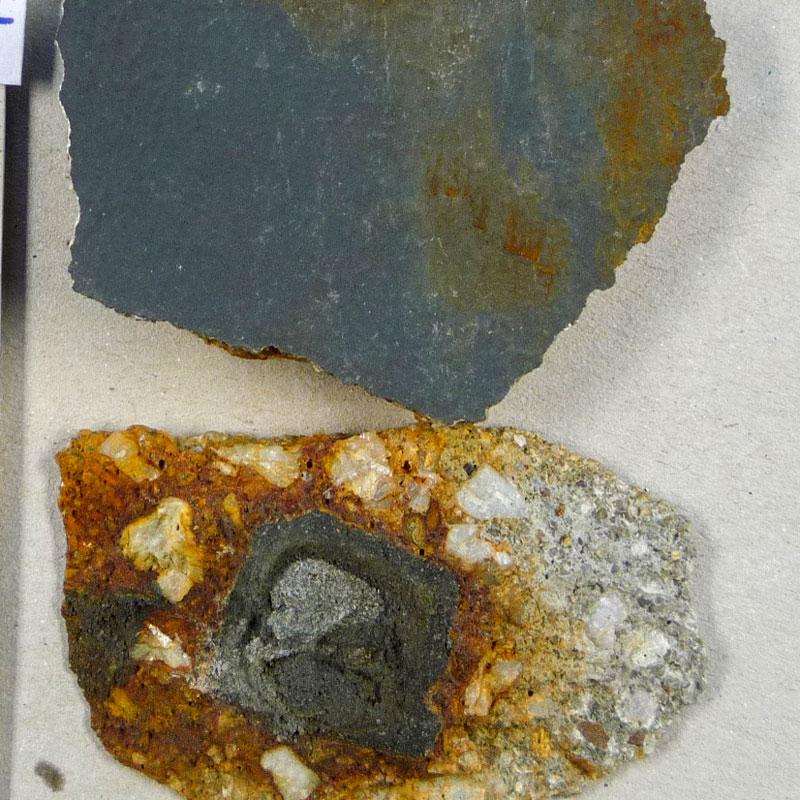 Pyrit (FeS2) als Eintragsquelle von Eisenionen