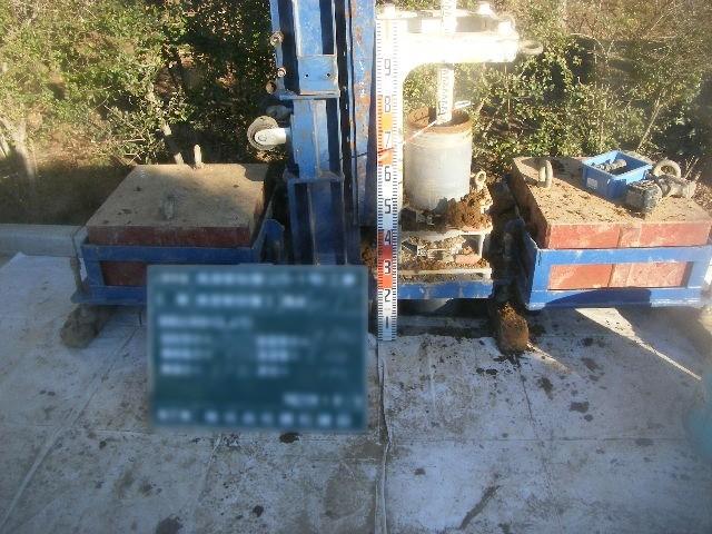 浸透管設置(25-1号)工事