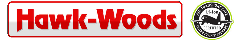 Hawk-Woods - Akkus Flugtransport-zertifiziert