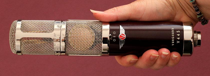 Vanguard V44S Stereomikrofon mit drehbarem Kapselsystem für XY- oder MS-Stereo