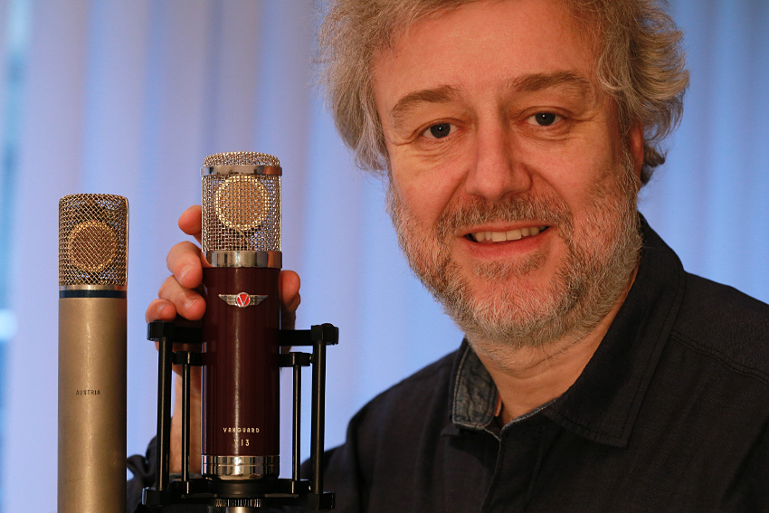 Vanguard V13 - fernsteuerbares Röhrenmikrofon