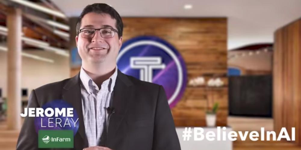 Jerome joins Tomorrow's Tech #BelieveInAI series