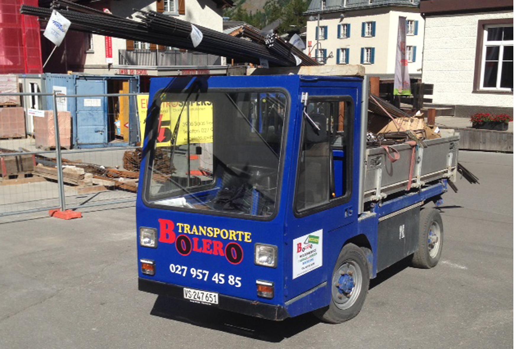 Transporte Garage Bolero Saas Fee