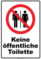 Was soll ich machen wenn es keine Toilette weit und breit gibt?