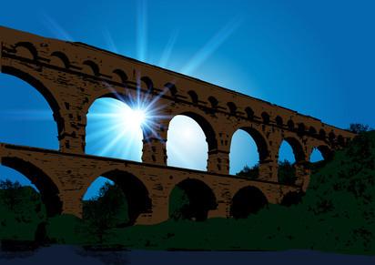 Pont du Gard à Vers-Pont-du-Gard