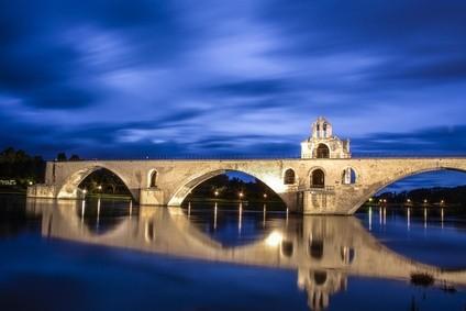 Le pont d'avignon Cité des Papes à Avignon