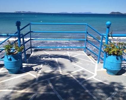 Malen am Arilla-Strand