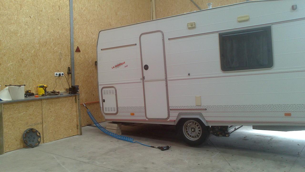 réparation caravanes