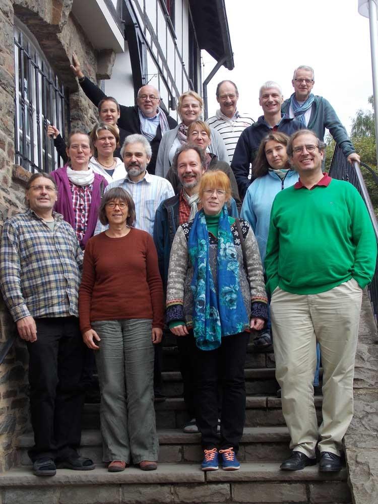 Chor glissando auf dem Chorwochenende 2013 in Hellenthal
