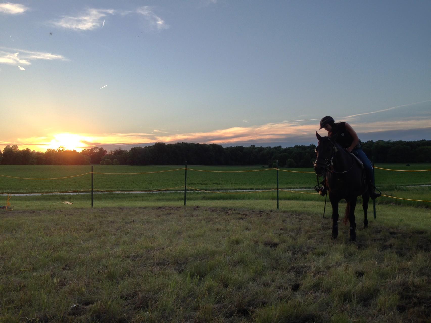 First rider