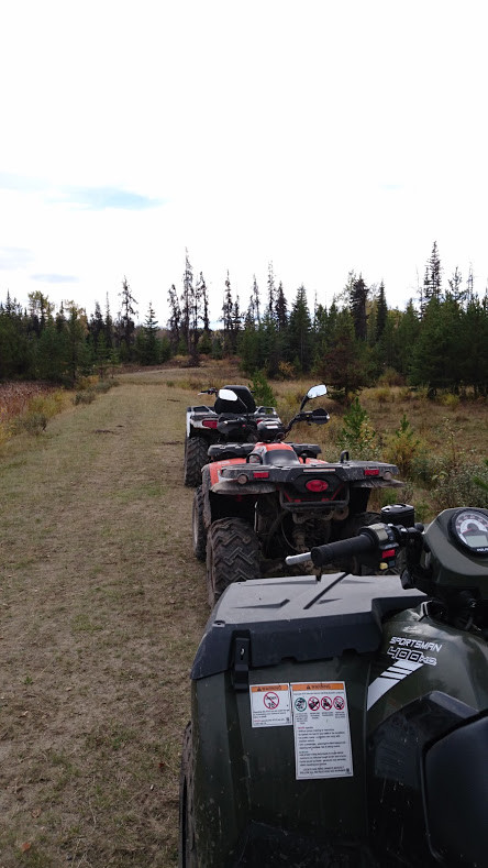 Quad tour in the Crown lands