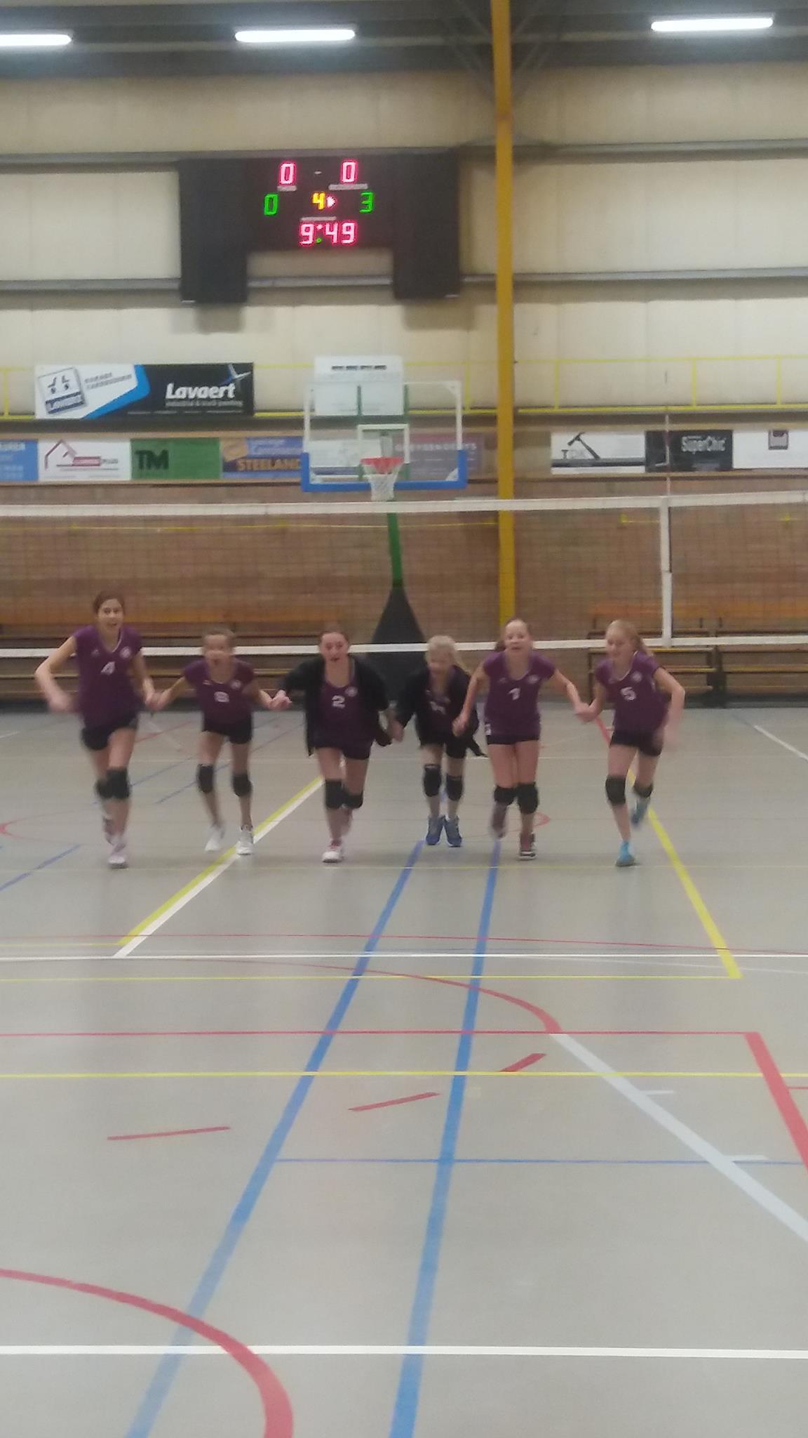 U13 A wint 0-3 in Deerlijk